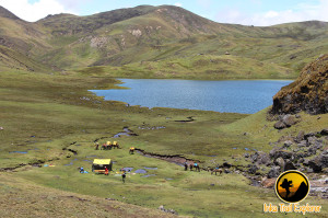 Yanacocha black Lake